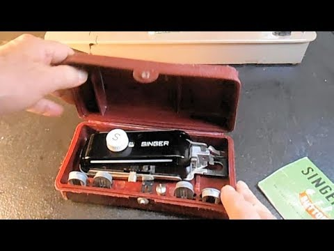 All about the Buttonholer for Singer Model 301 Sewing Machine PART 1
