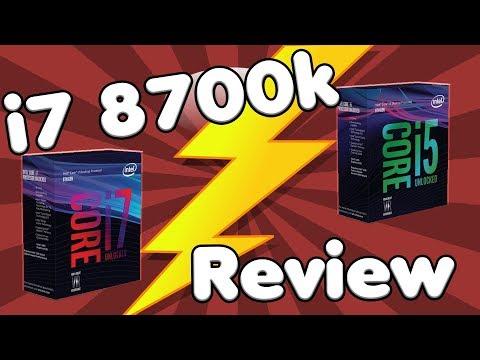 Die zur Zeit BESTEN Prozessoren für GAMER?   Intel core i5 8600k und i7 8700k Review