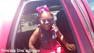Princess Diva's B-day hair & Vlog