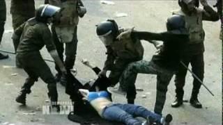 Egyptian army brutality. (USA, UK, FRANCE & NATO  KEPT SILENT)