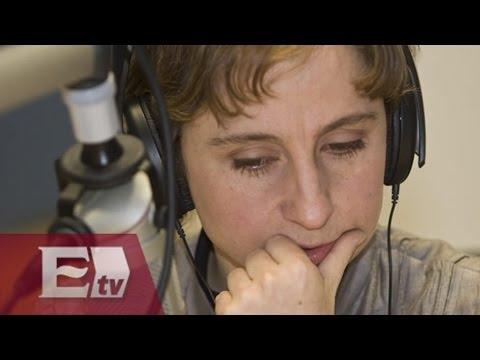 Carmen Aristegui sale de MVS/Pascal Beltrán
