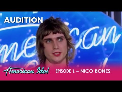 Nico Bones: The Most BIZARRE Rock n' Roll Audition | American Idol 2018