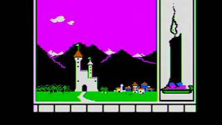 The Magic Candle - Title Sequence - Apple II