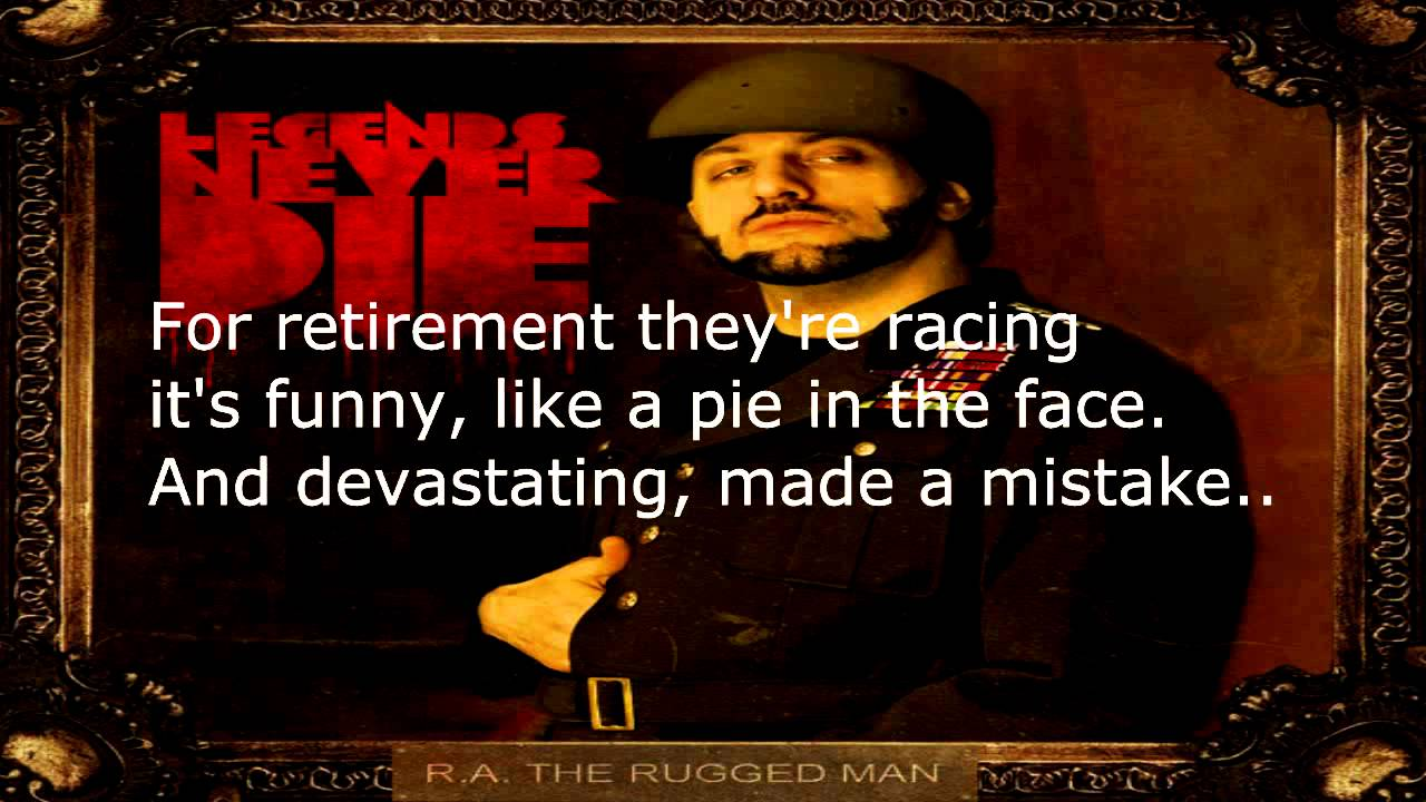 R A The Rugged Man Definition Of Rap Flow Lyrics ᴴᴰ