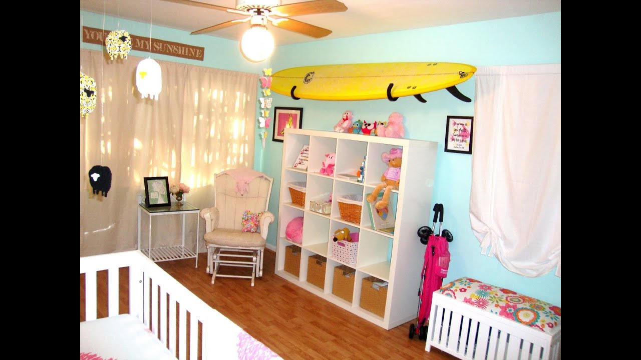 Cute baby girl room ideas youtube for Baby girl bedroom decoration