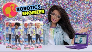 Barbie Robotics Engineer 2018 Career of The Year Dolls Unboxing with Kelsey