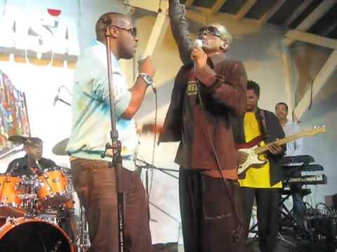 Kaysha & Jean-Michel Rotin @ Lakasa, Guadeloupe, live. 2007