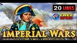 Imperial Wars - Slot Machine - 20 Lines + Bonus