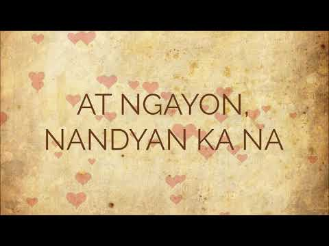 IKAW AT AKO - [LYRICS] Moira Dela Torre & Jason Hernandez Wedding Song 4K HD