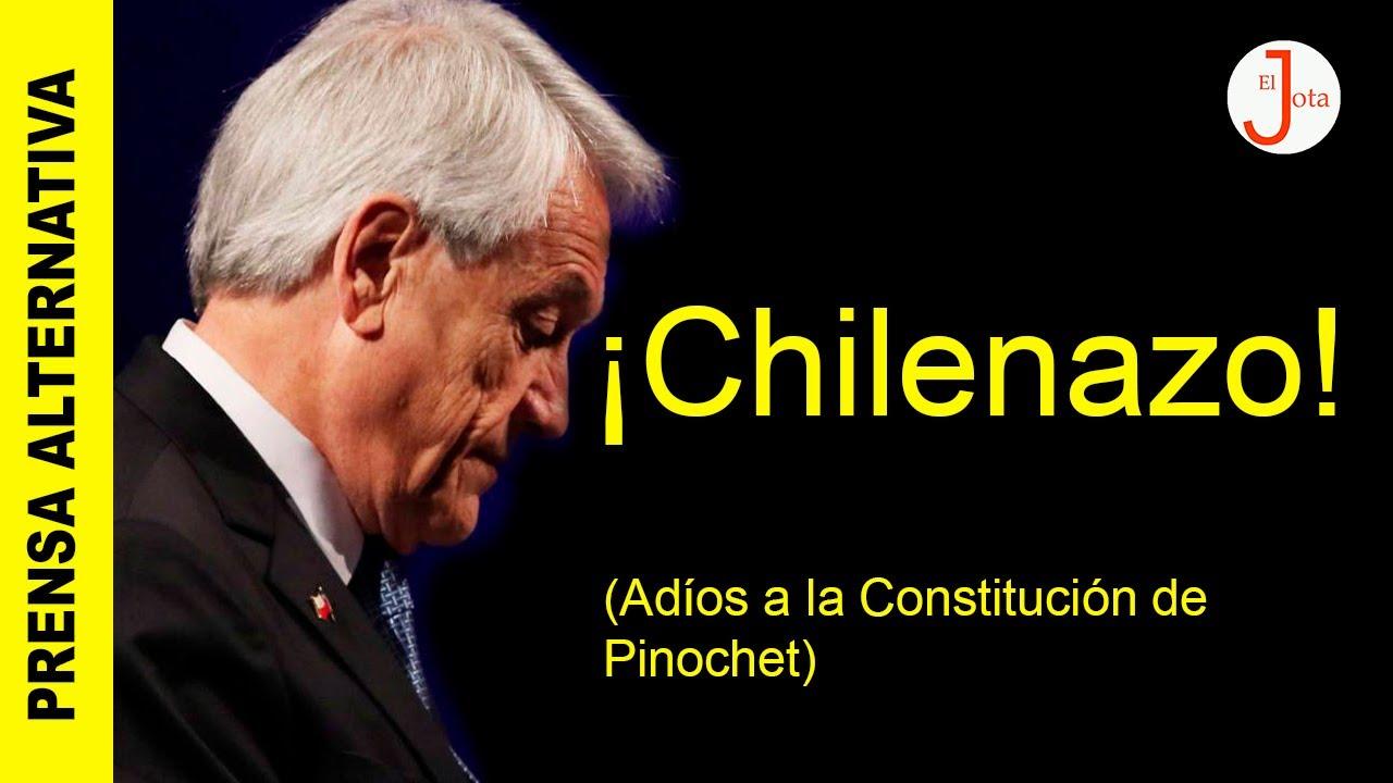 CONTUNDENTE: Chilenos le dicen adiós a la Constitución de Pinochet!!!