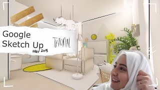 Sketch Up Tutorial for Interior Design (Workflow from AutoCAD to Sketch Up)
