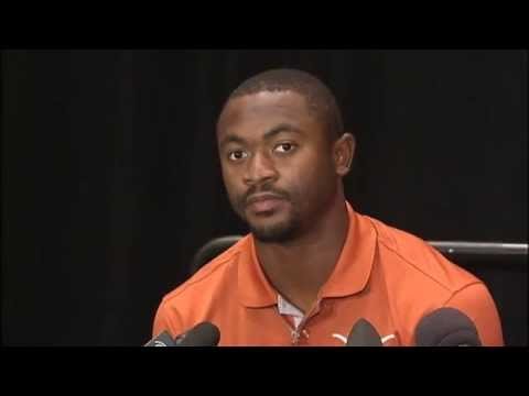 Johnathan Gray speaks at Big 12 Media Days