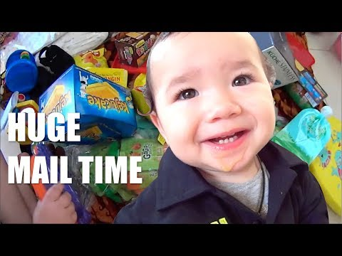 HUGE Mail Time with Baby Zee