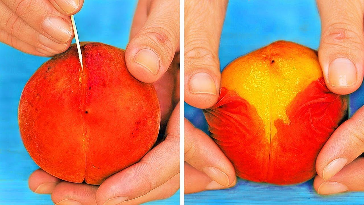 皮を剥くのが大変な食べ物を簡単に食べるためのハック28選