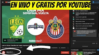 DÓNDE VER la SEMIFINAL de VUELTA LEÓN vs CHIVAS EN VIVO