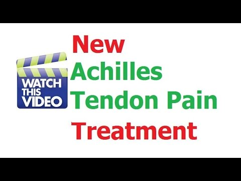 How To Stop Achillles Tendon Pain With Herbal Remedy