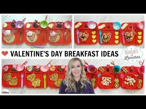 VALENTINE'S DAY BREAKFASTS + What They Ate || BUNCHES of LUNCHES