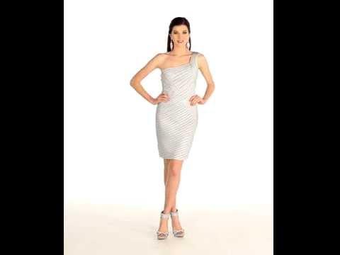 one-shoulder-cocktail-attire-|-short-prom-dress