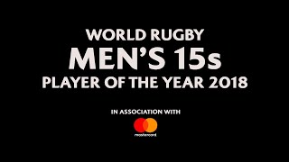 World Rugby Men's 15s Player of the Year 2018 Nominees!