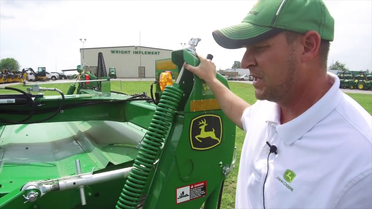 How To Hook Up A John Deere Mower Conditioner