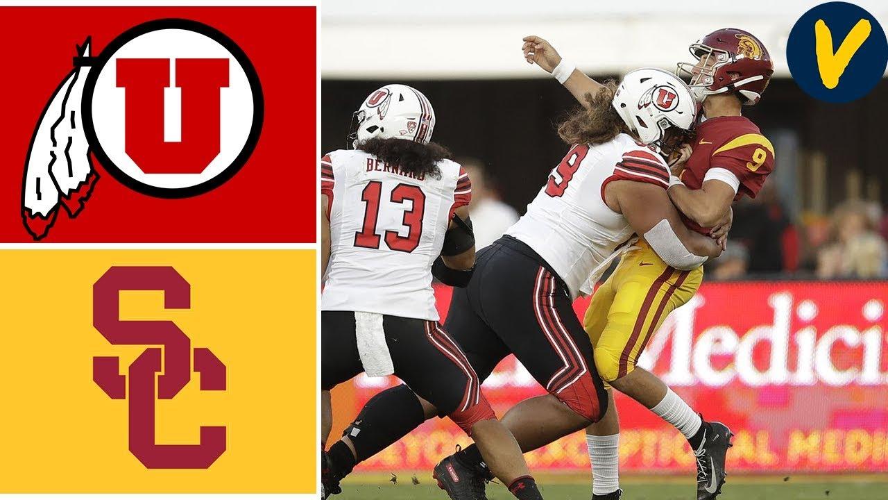 Week 4 2019 #10 Utah vs USC College Football Full Game Highlights 9/20/2019