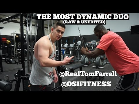 THE MOST DYNAMIC DUO IN LIFTING | Tom Farrell & @OSIFITNESS | Raw and Unedited Back Day