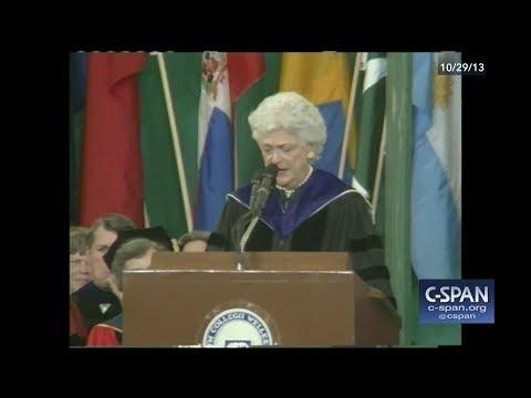Barbara Bush Wellesley College Commencement - FULL VIDEO (C-SPAN)