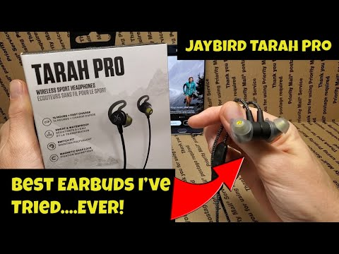 😱 BEST Earbuds for Working Out? 😱  Jaybird Tarah Pro Review [Bluetooth Earbuds]