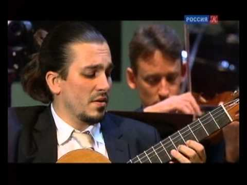 Artyom Dervoed plays Paganini -- Concerto for guitar and orchestra