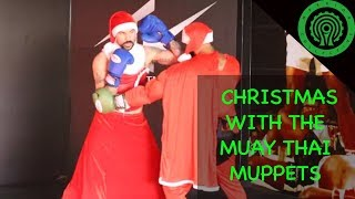 Christmas with the Muay Thai Muppets - Hook Counter Tutorial