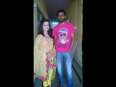 Shivarudra Naik with Mayoori - actress (Ashwini nakshathra)
