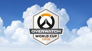Overwatch World Cup Thailand 2018 - Day 1