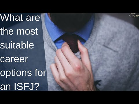 What are the most suitable career options for an ISFJ personality type? | CS Joseph Responds