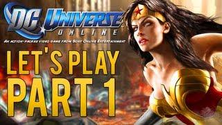 DC Universe Online w/ Dinozords | Part 1 [HD] | Enter The DC Universe!