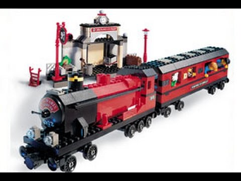 Lego Harry Potter 4708 Hogwarts Express Building Instructions Youtube
