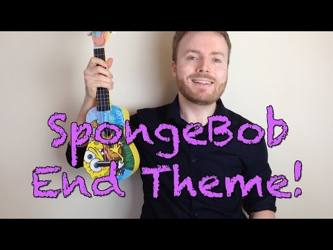 SpongeBob Squarepants End Theme (Ukulele Tutorial)