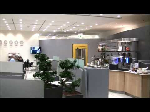 Lufthansa Business Class Lounge, Stuttgart Airport