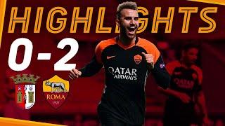 Braga 0-2 Roma
