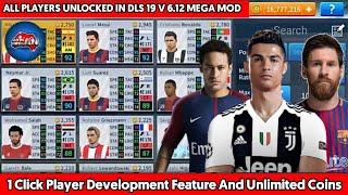 😝 Dls mega mod apk download   Dream League Soccer 2019 6 12 Mod Apk