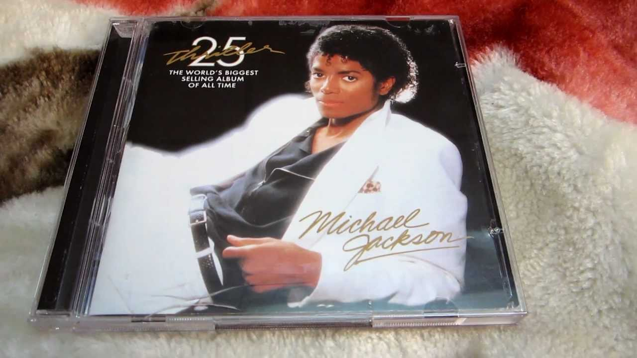Michael jackson – thriller special edition cd album (with card sleeve).