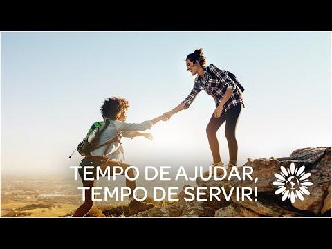Tempo de ajudar,  tempo de servir!
