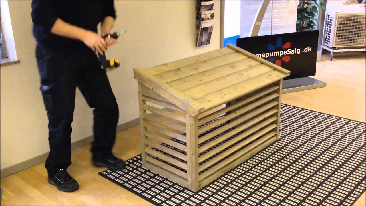 #A0742B Mest effektive Varmepumpeskjuler Samling   Gør Det Selv Installation Af Varmepumpe 5485 192010805485