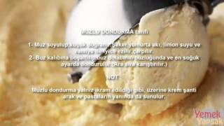 Muzlu dondurma nasıl yapılır