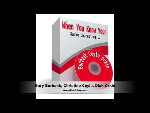 Radio Characters with Gary Burbank, Christine Coyle, Dick Orkin