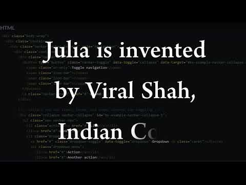 Julia | Indian Coder | Possible in INDIA