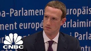 Facebook's Mark Zuckerberg Speaks With European Parliament - May 22, 2018 | CNBC