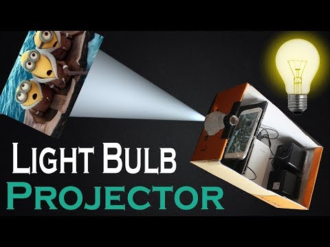 How To Make Projector At Home With Mobile