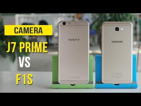 Đối đầu camera - Samsung Galaxy J7 Prime vs OPPO F1s