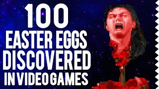 100 Best Easter Eggs Discovered in Video Games 1977-2019