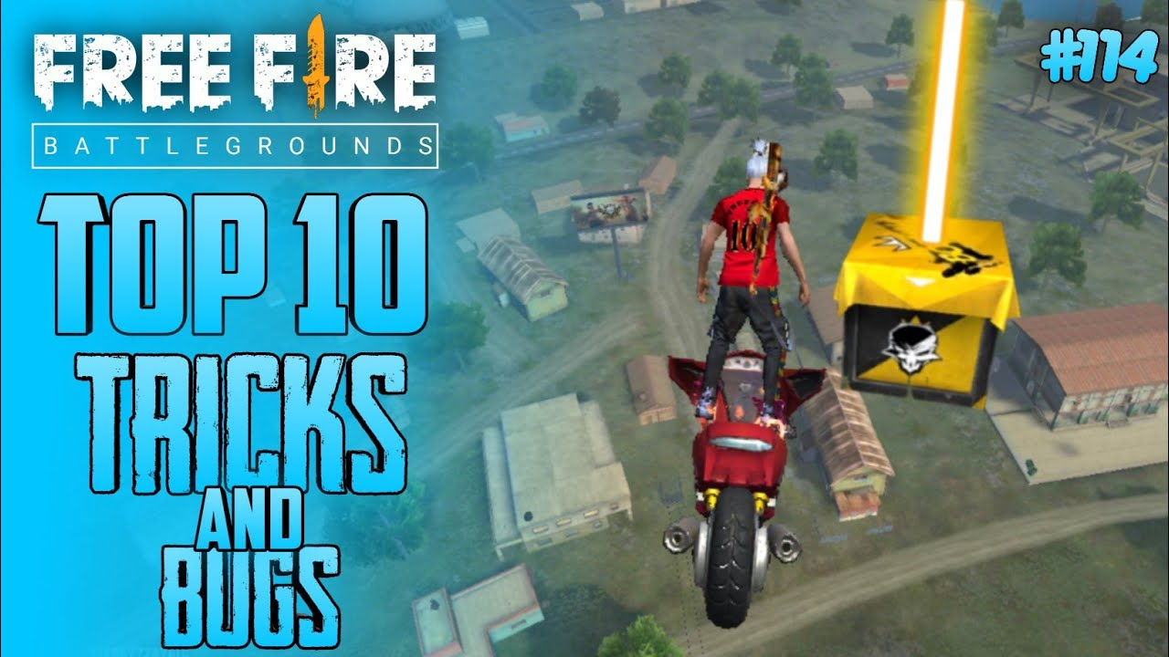 Top 10 New Tricks In Free Fire | New Bug/Glitches In Garena Free Fire #114